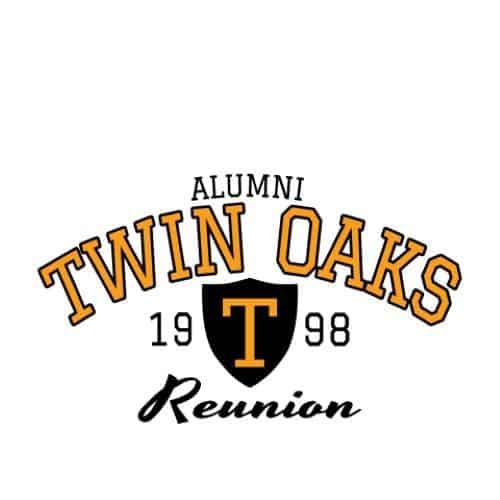 College reunion t shirt design