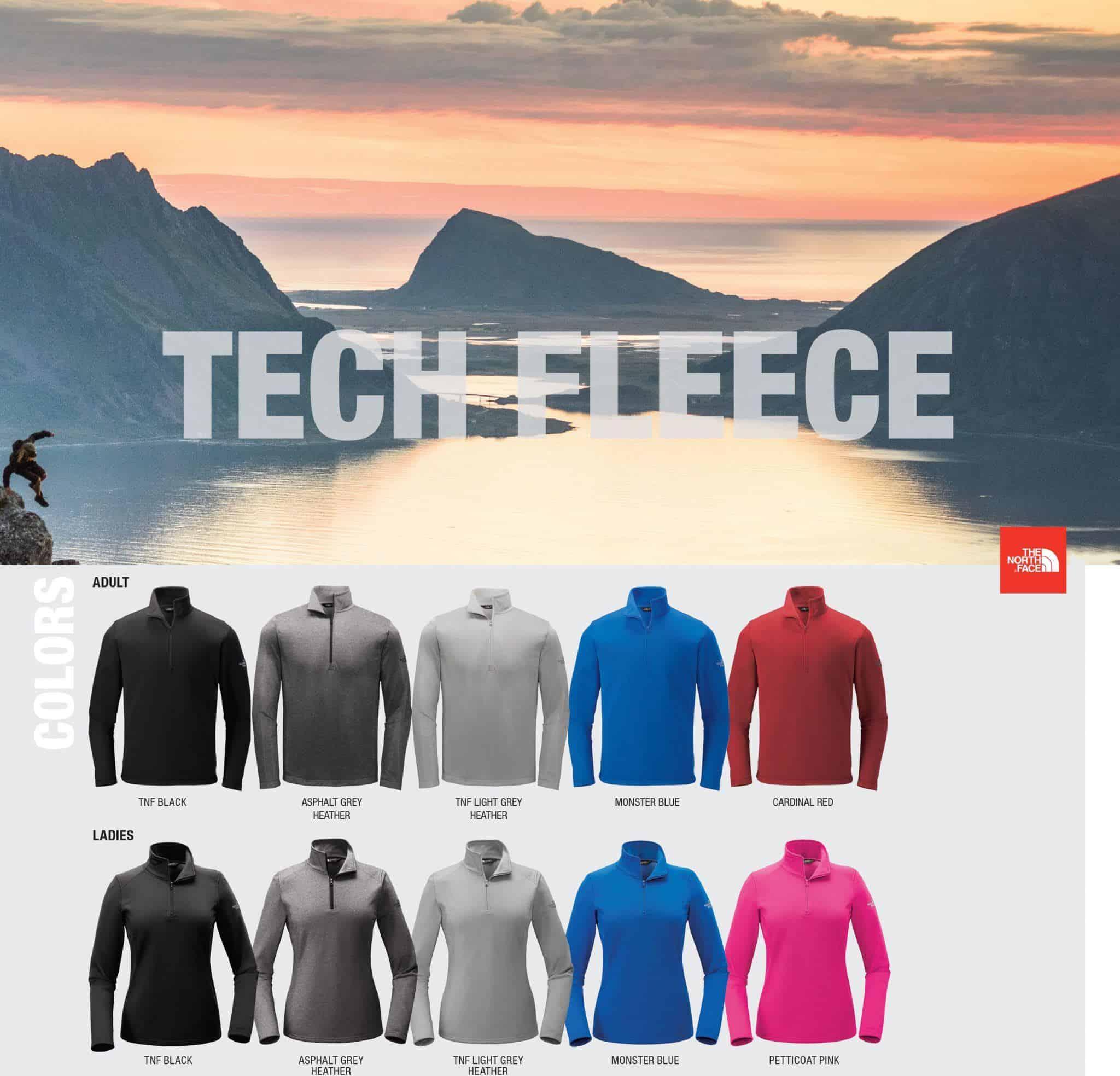 Custom North Face Jackets – Tech Fleece