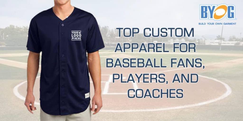 custom baseball apparel, custom baseball clothing, customizable baseball clothing, customizable baseball apparel