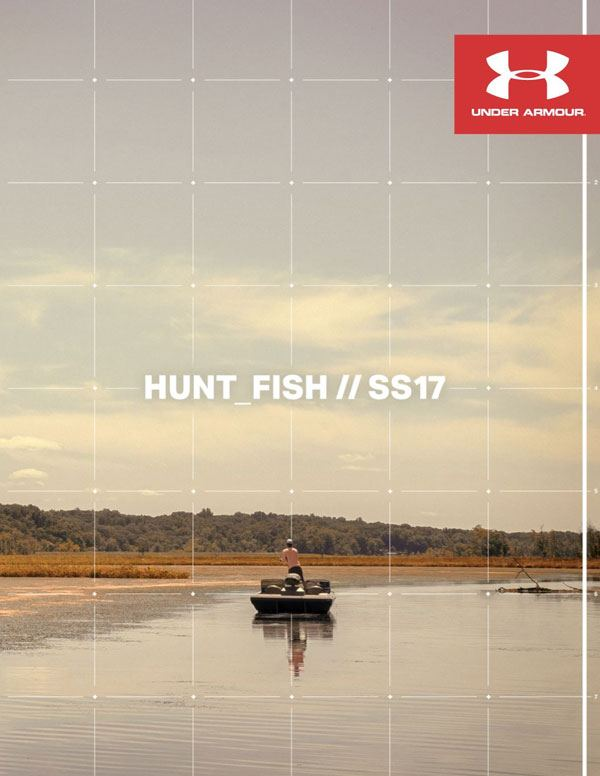 Under Armour hunting and fishing gear