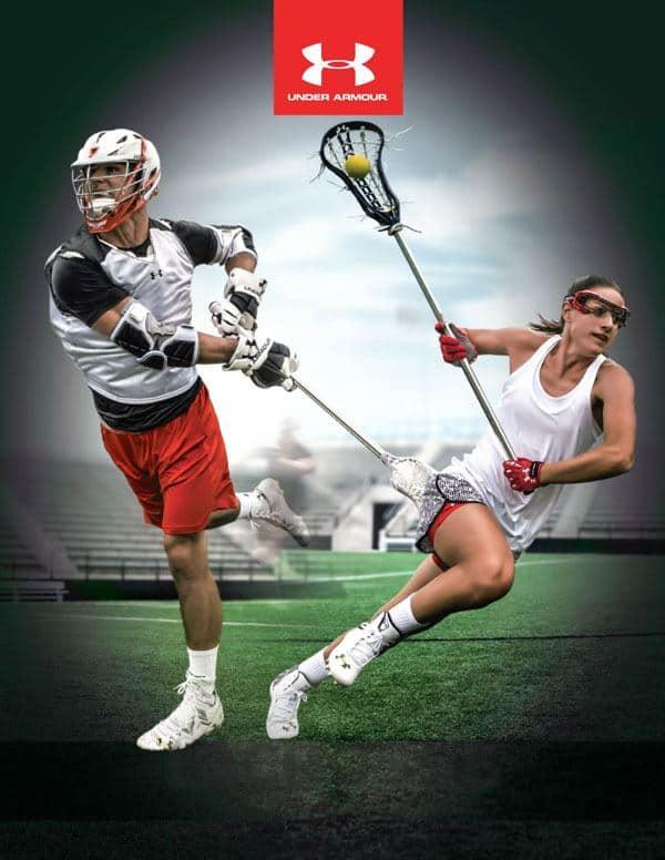 Under Armour lacrosse uniforms